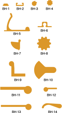 Builders Hardware Profiles